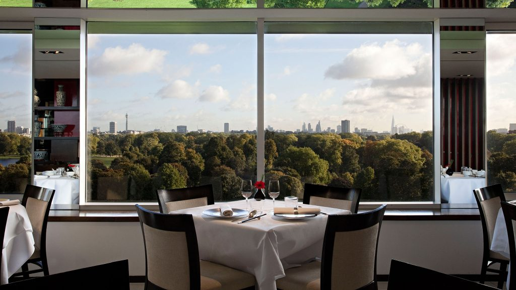 halal restaurants with a view in London