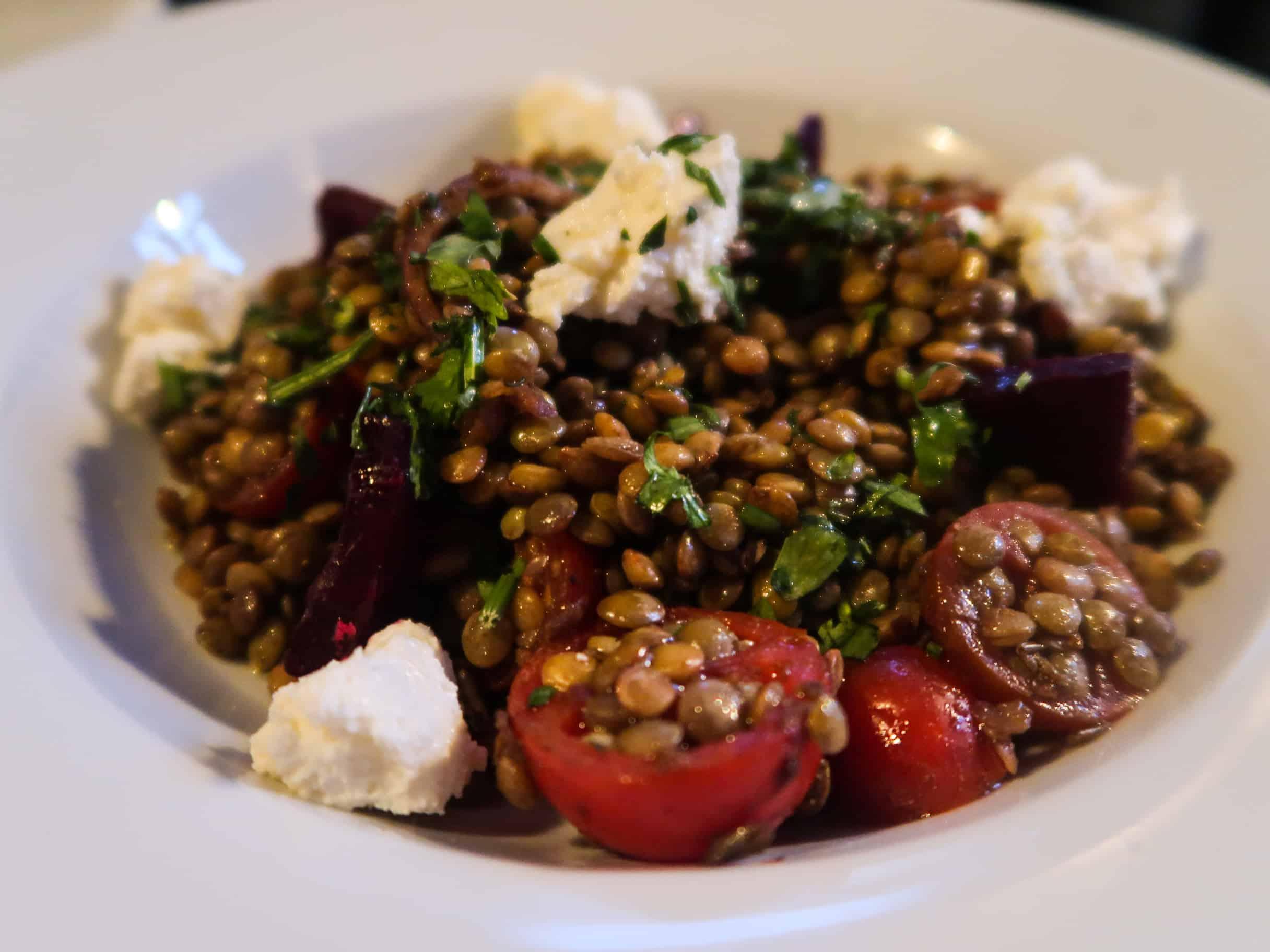 Nomad Lentil Salad