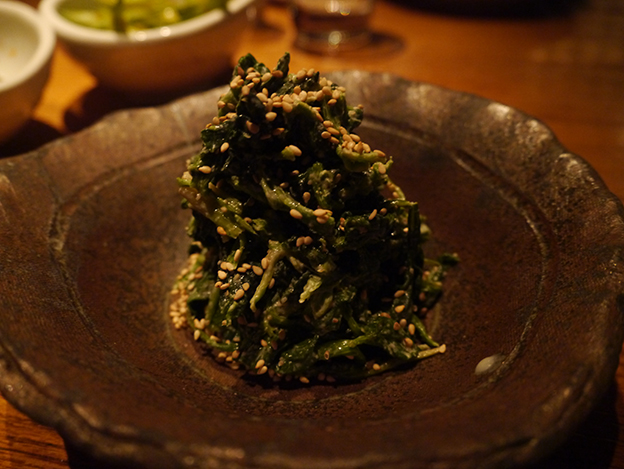 Sesame Creamed Spinach