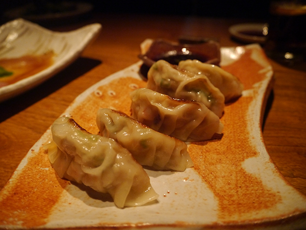 Prawn and Black Cod Gyoza