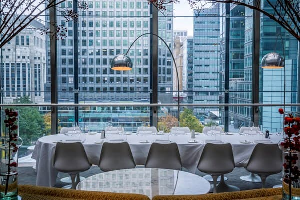 Plateau Halal Restaurants with a view in London