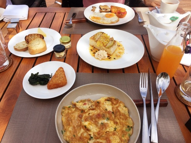 Hotel Paresa Breakfast