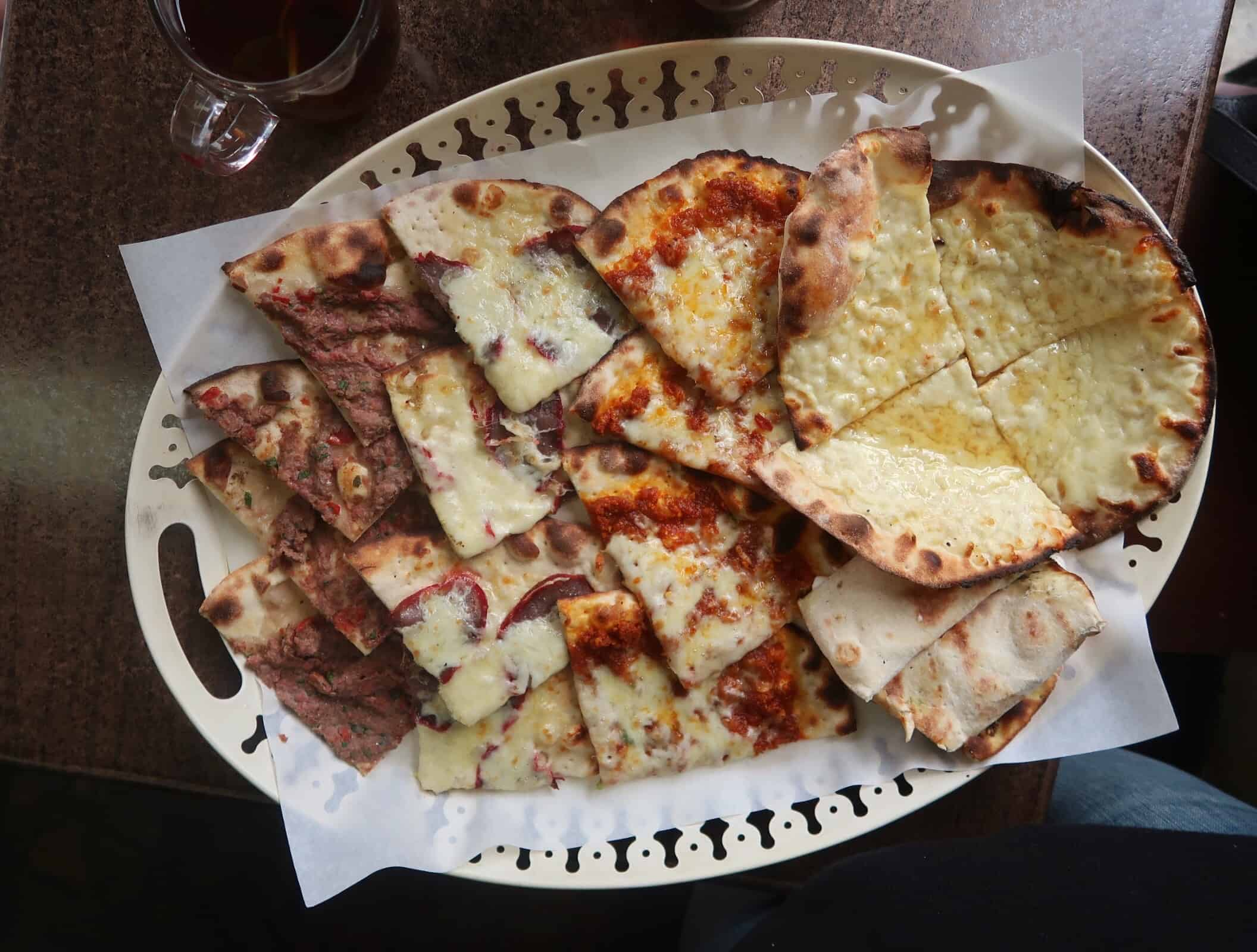 Zeit and Zaatar Various Manakish £10 Halal Cheap Eats