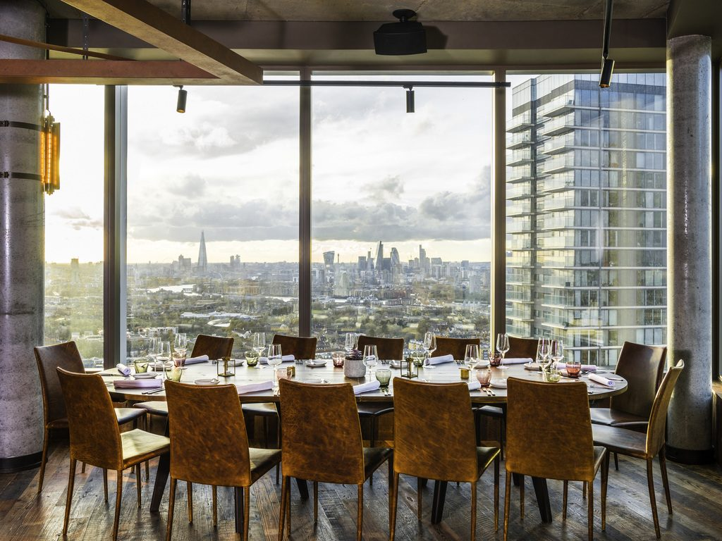 Bokan Halal restaurants in London with a view