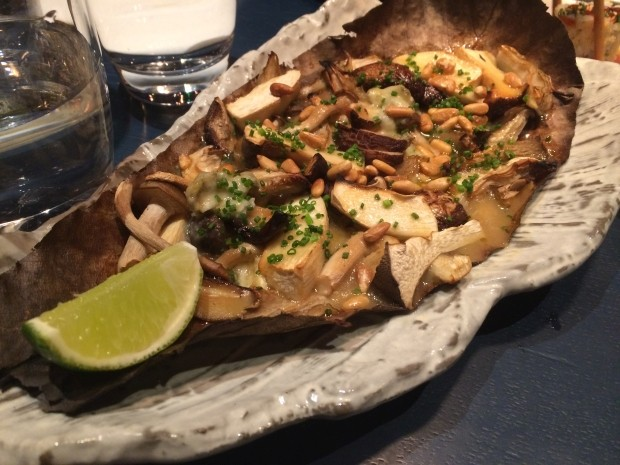 Grilled Japanese Mushrooms [£9.75]