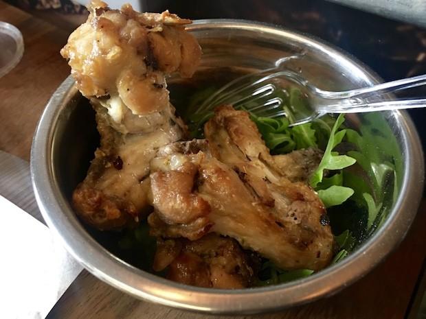 lemon sea salt chicken wings