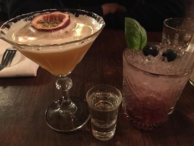 Disney Star Martini [£5.75] and Blue Basil [£5.75]