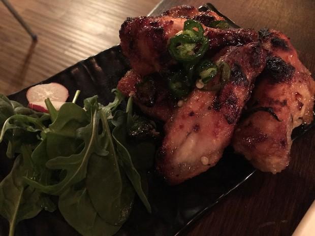 Honey & Chilli Chicken Wings [£4.95]