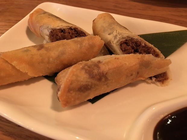 Aromatic duck Spring Roll