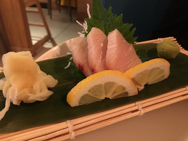 Yellow Tail Sashimi [£4.75]